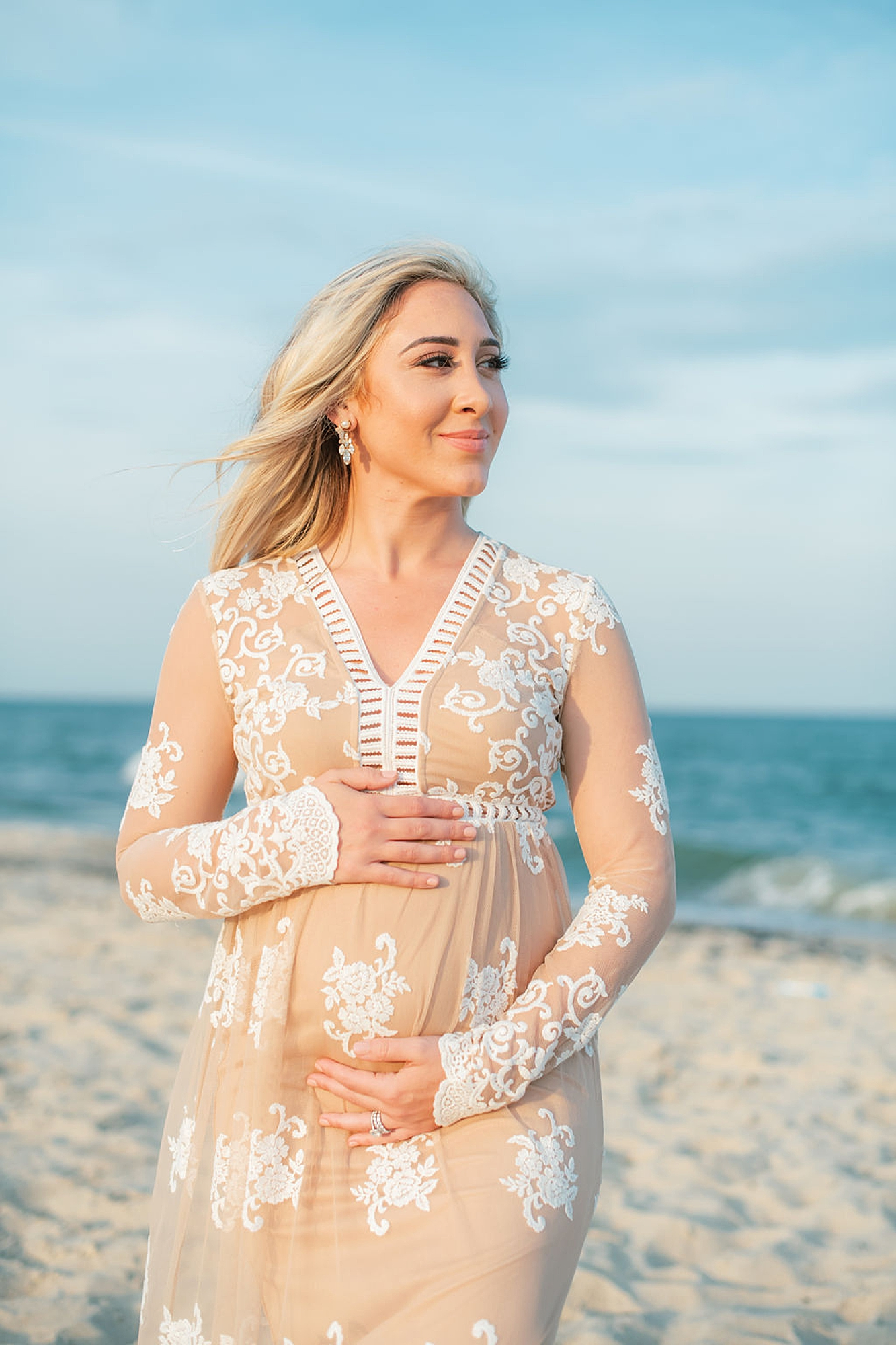 Natural and Fun Maternity Photography in Ocean City NJ by Magdalena Studios 0006