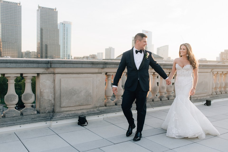 Free Library of Philadelphia Wedding Photography by Magdalena Studios 0032