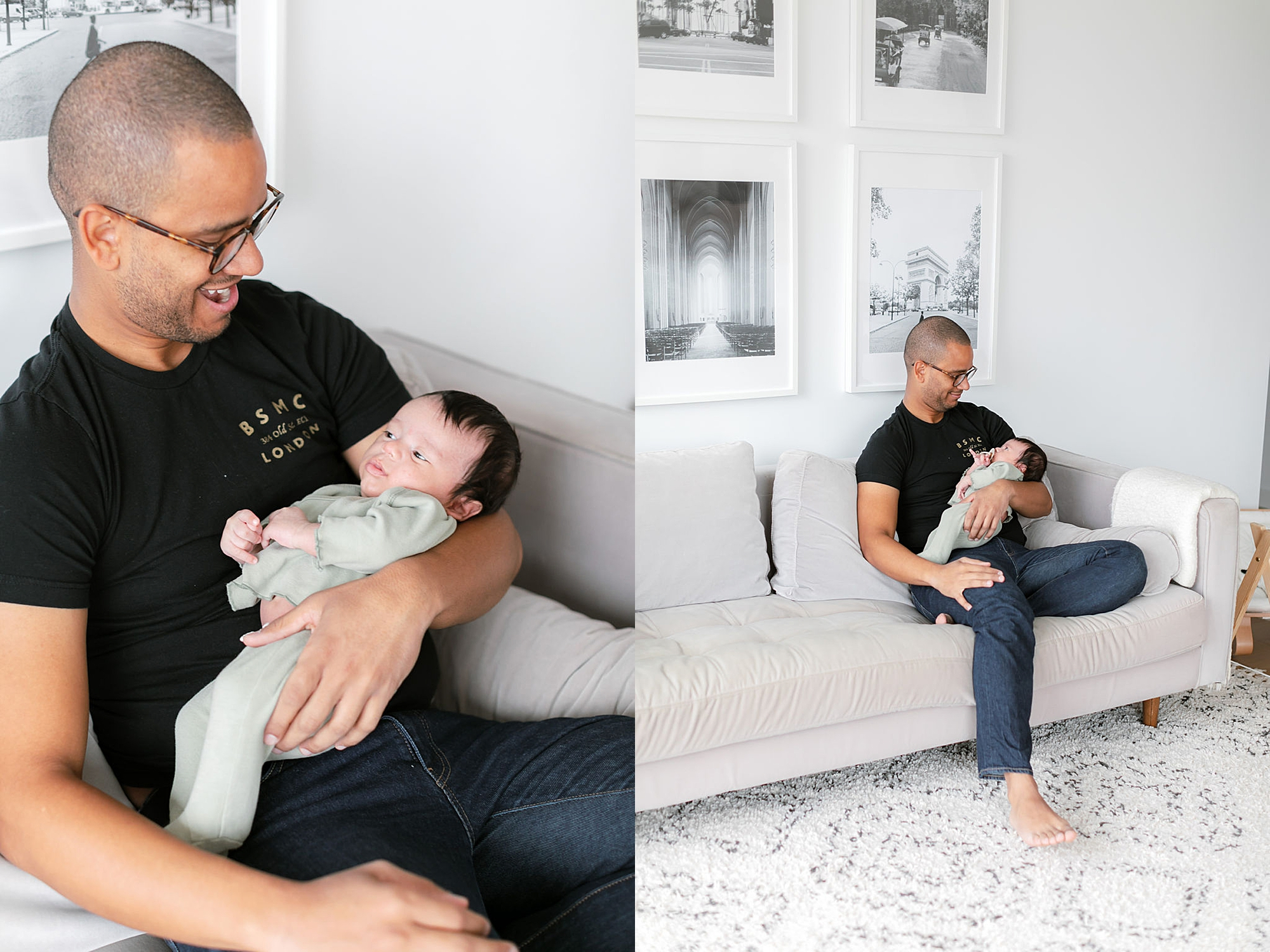 Lifestyle Home Newborn Session Family Portraits NYC by Magdalena Studios13