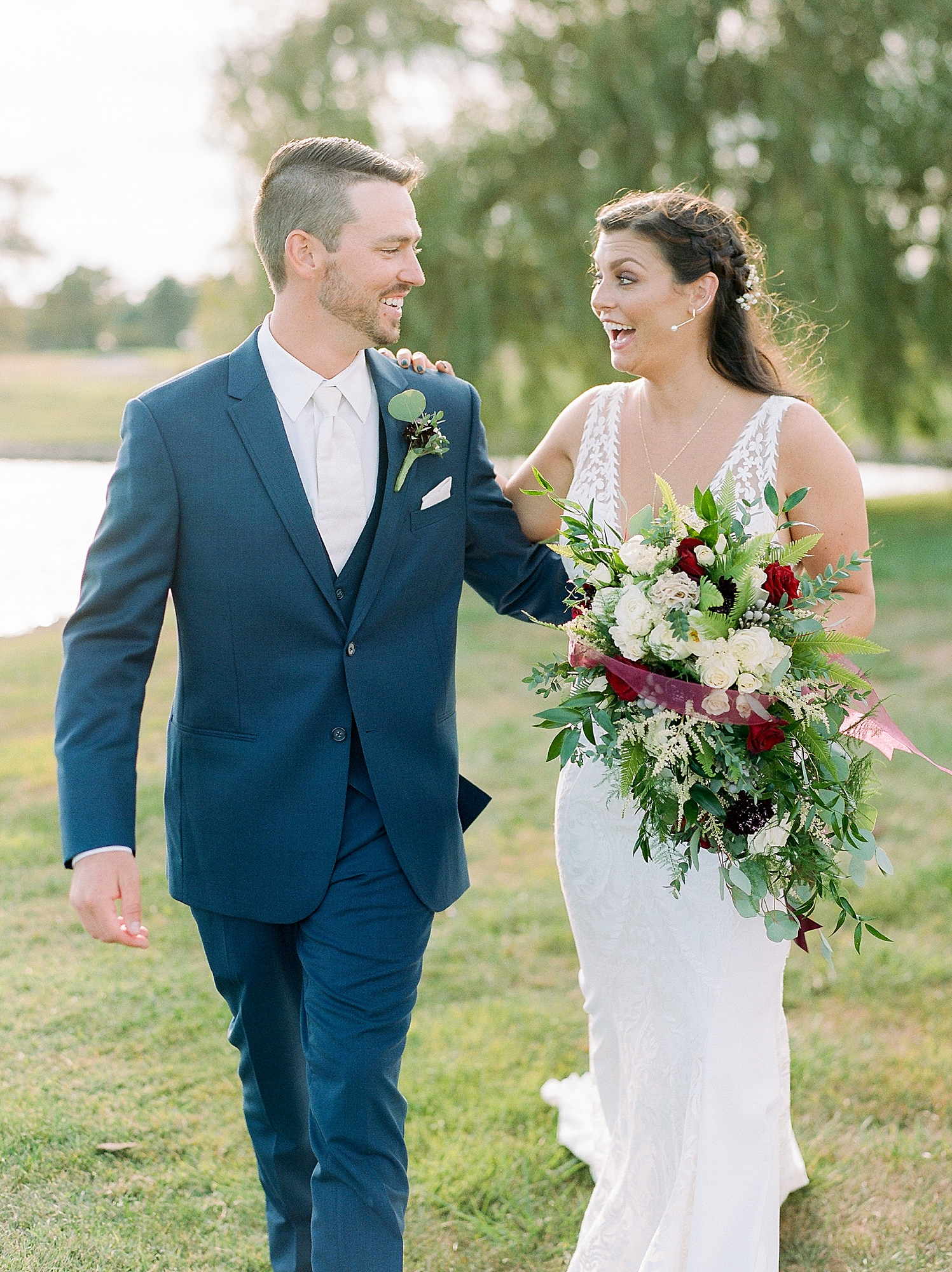 Linwood Country Club Film Wedding Photography by Magdalena Studios South Jersey Wedding Photographer 14