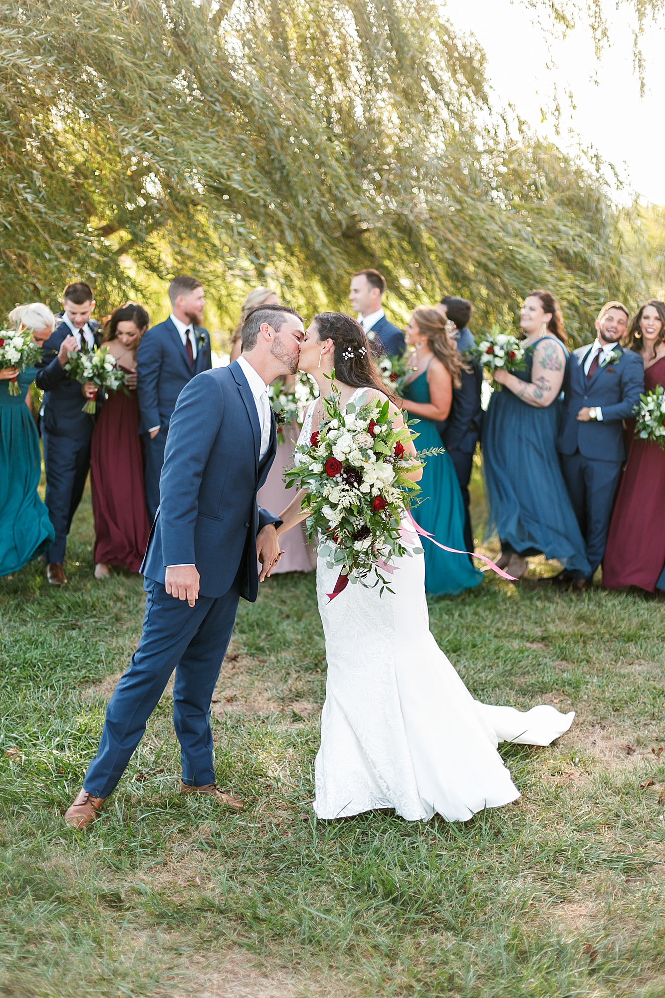 Linwood Country Club Film Wedding Photography by Magdalena Studios South Jersey Wedding Photographer 27
