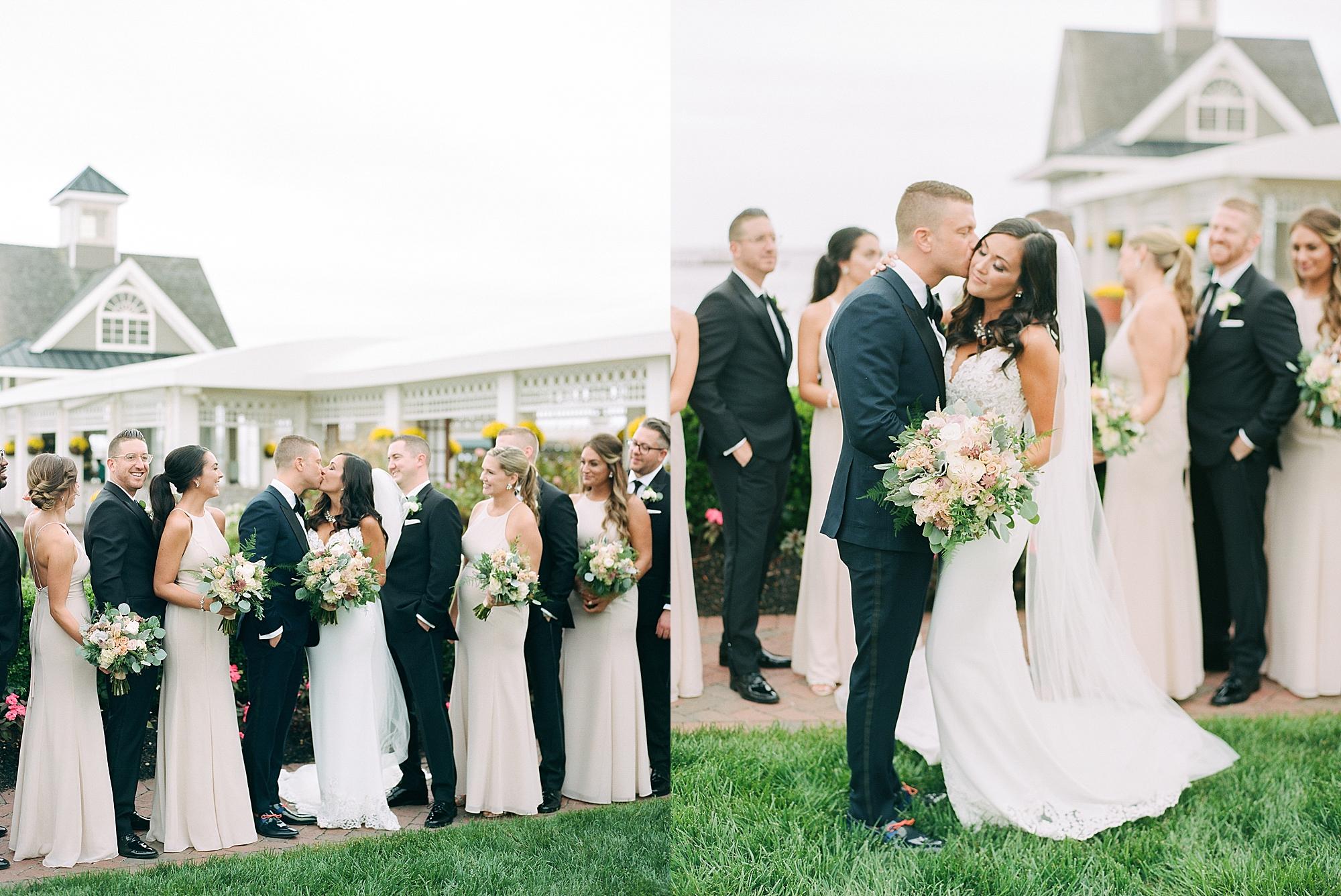 Mallard Island Yacht Club Film Wedding Photography by Magdalena Studios 0024