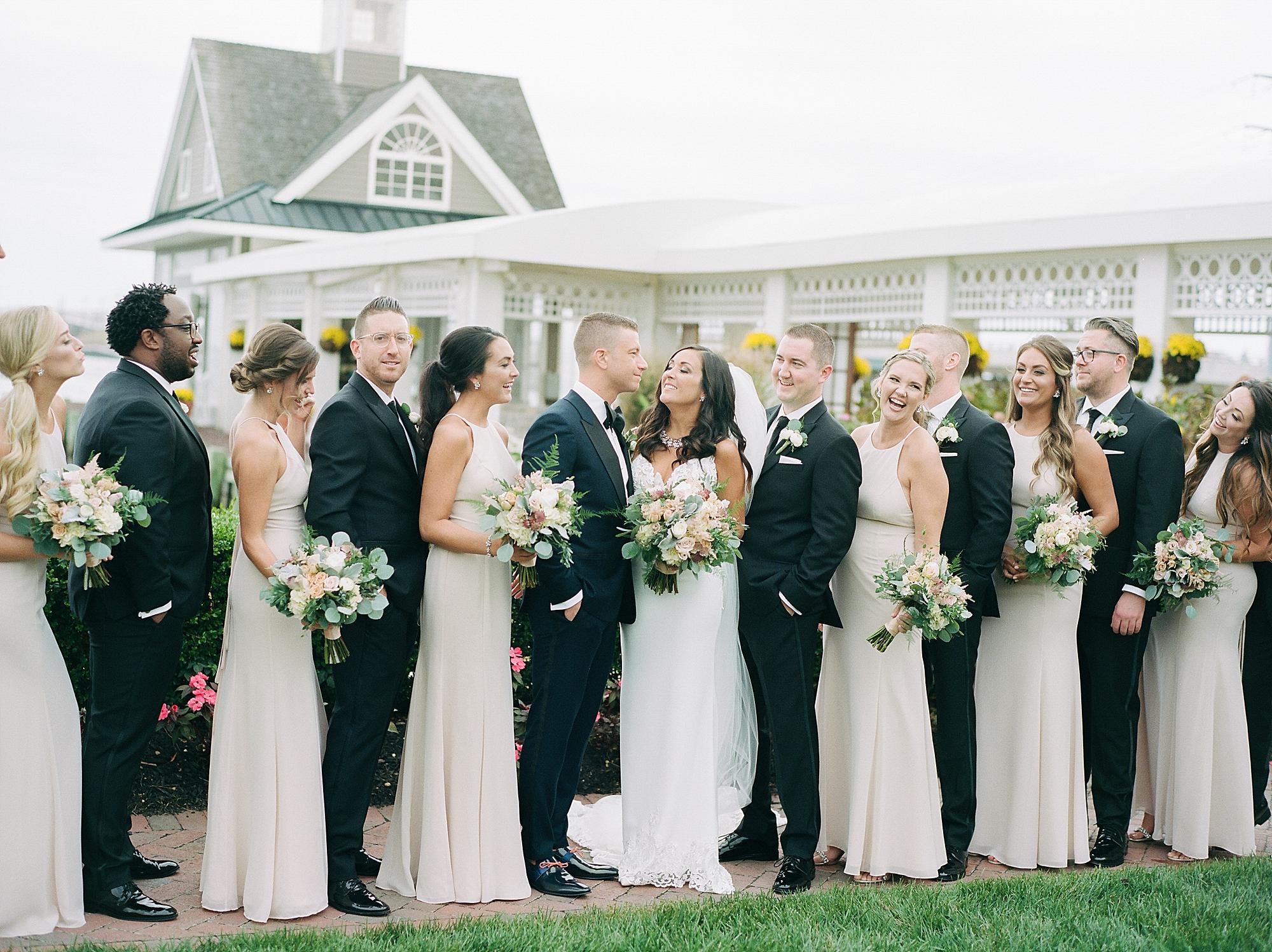 Mallard Island Yacht Club Film Wedding Photography by Magdalena Studios 0025