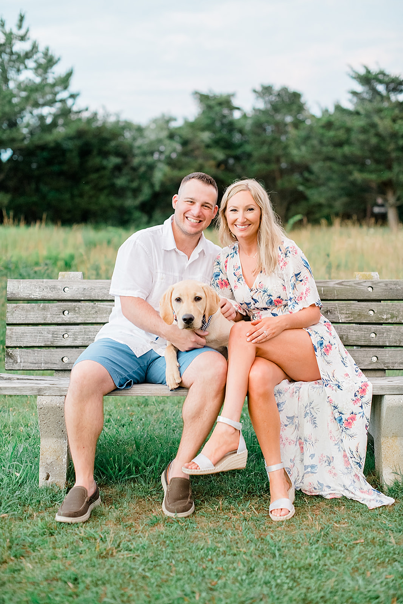 Willow Creek Winery New Jersey Engagement Photography with Dog by Magdalena Studios 0021