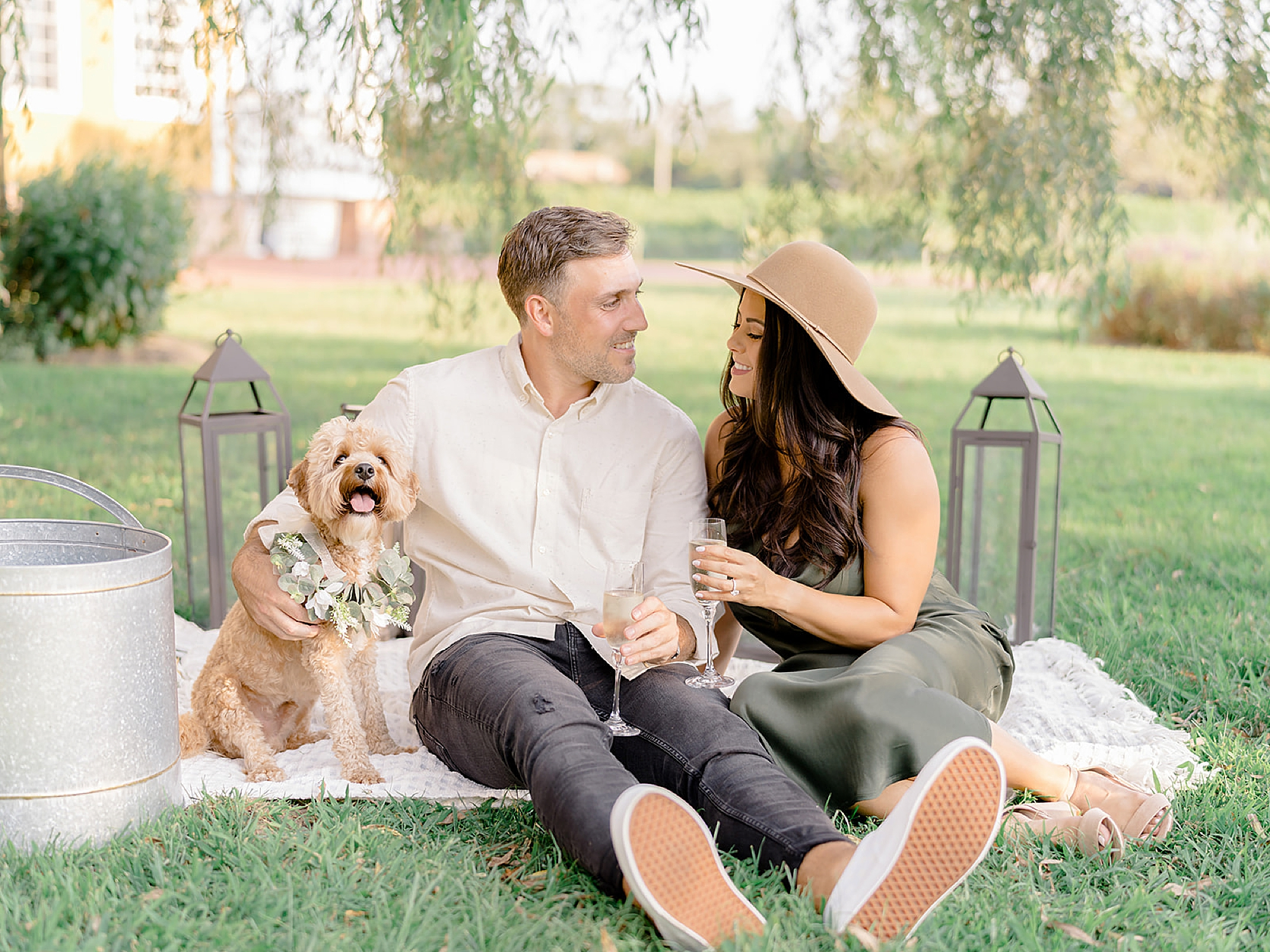 Cape May Winery Engagement Photography by Magdalena Studios 0004