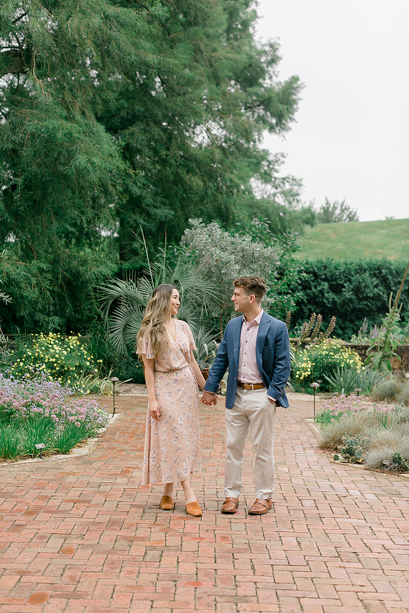 Longwood Gardens Surprise Proposal Engagement Photography by Magdalena Studios 0001