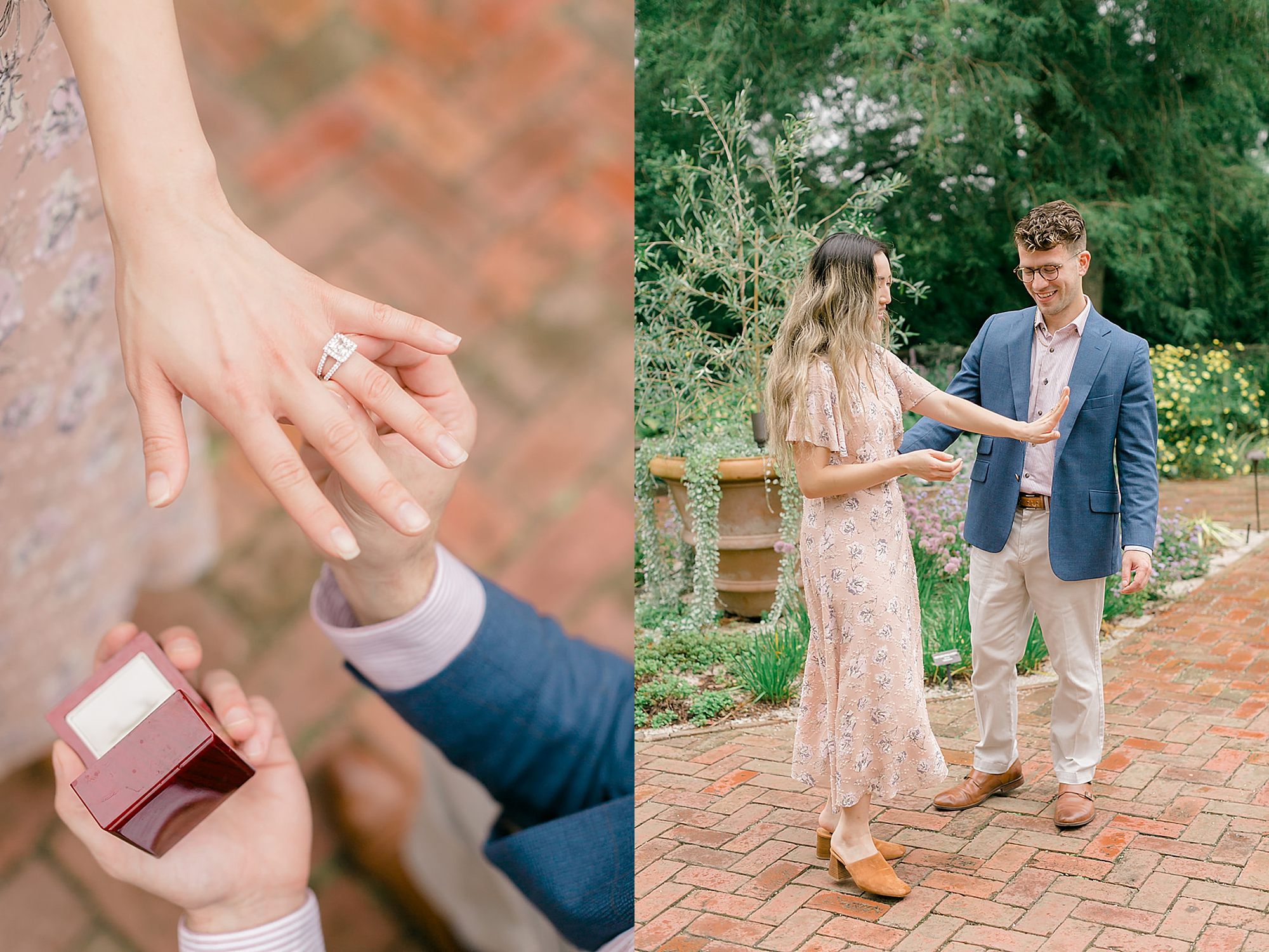 Longwood Gardens Surprise Proposal Engagement Photography by Magdalena Studios 0005