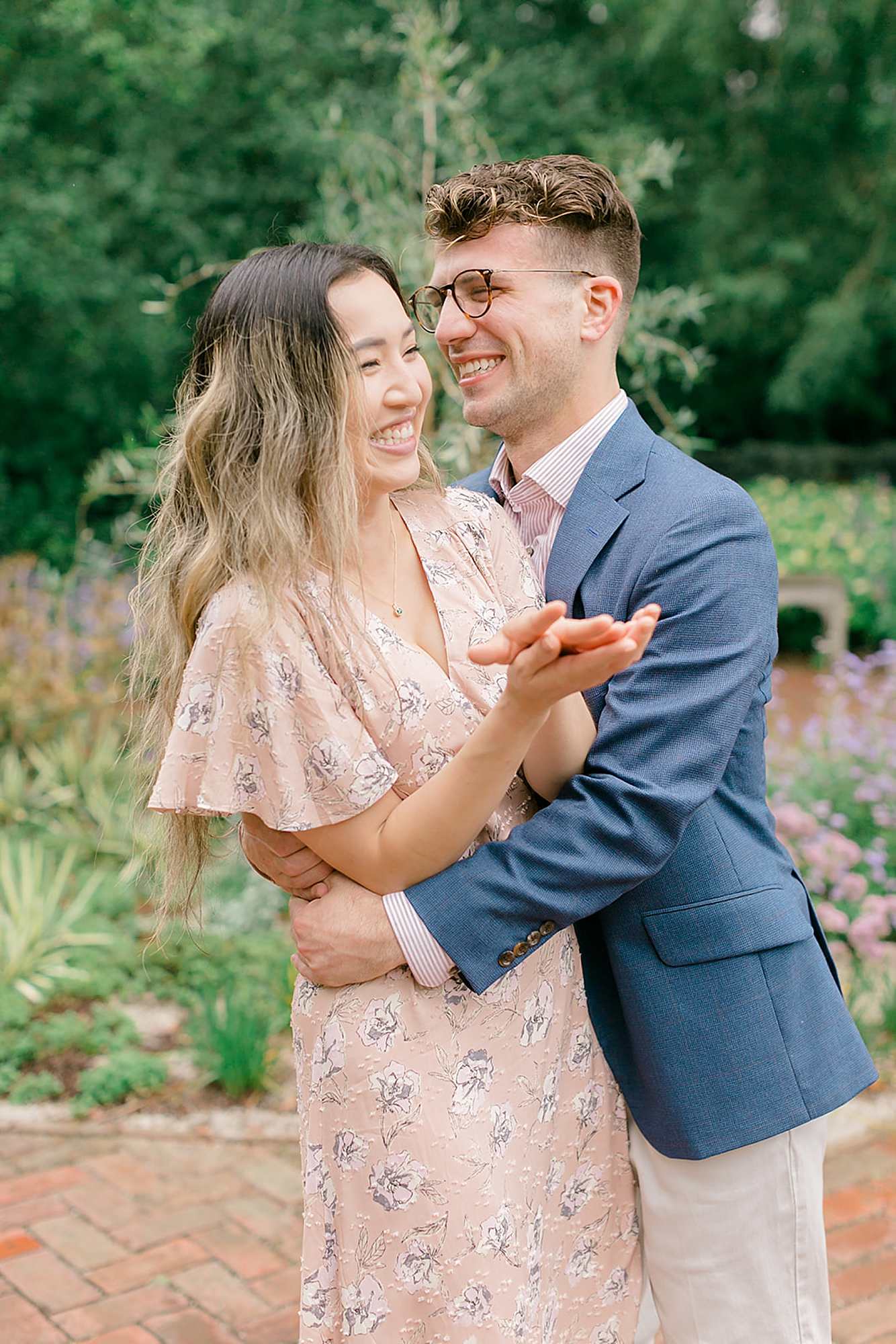 Longwood Gardens Surprise Proposal Engagement Photography by Magdalena Studios 0006