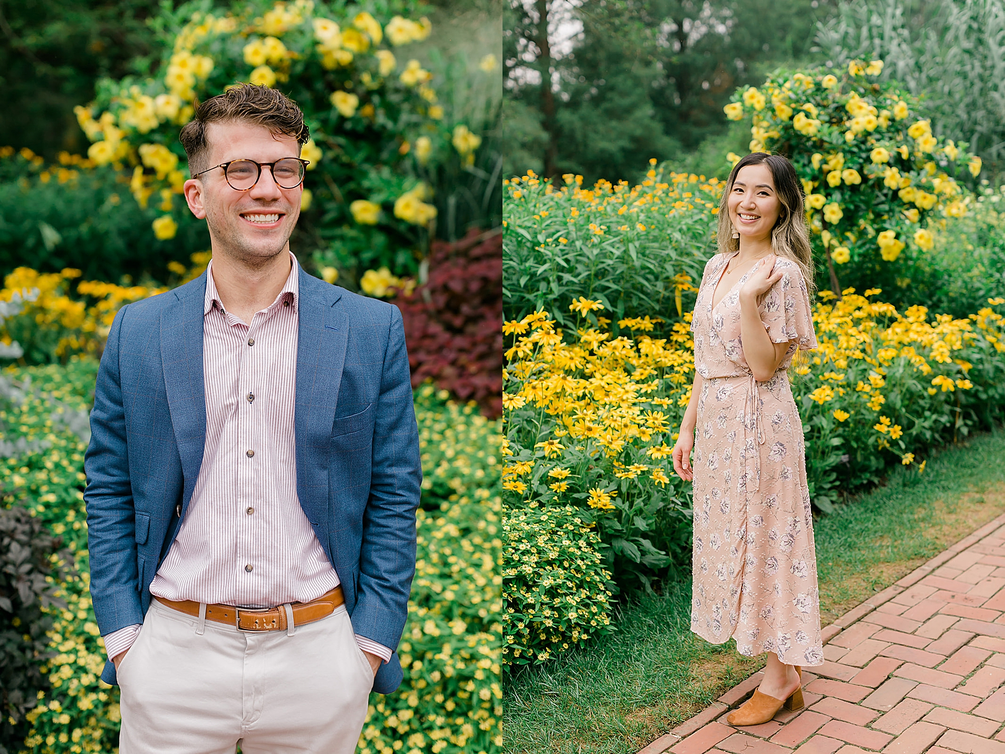 Longwood Gardens Surprise Proposal Engagement Photography by Magdalena Studios 0016
