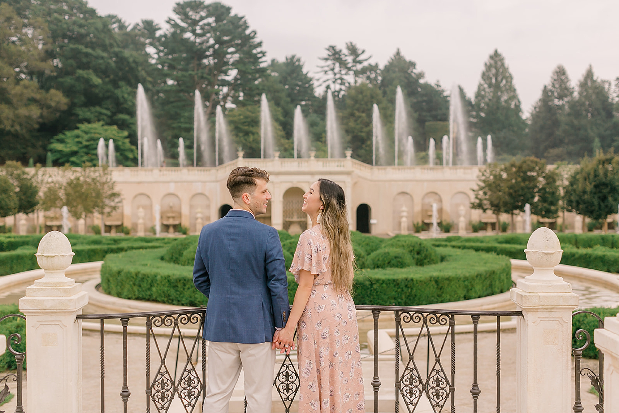 Longwood Gardens Surprise Proposal Engagement Photography by Magdalena Studios 0021