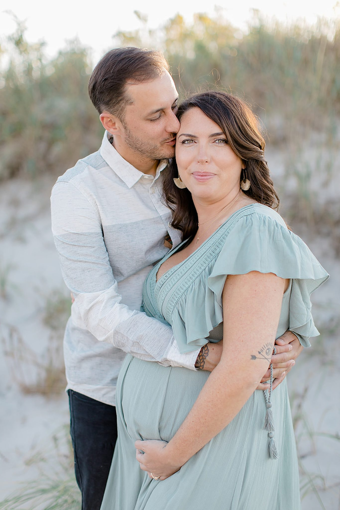 Ocean City NJ Maternity Portrait Photography by Magdalena Studios 0001 scaled