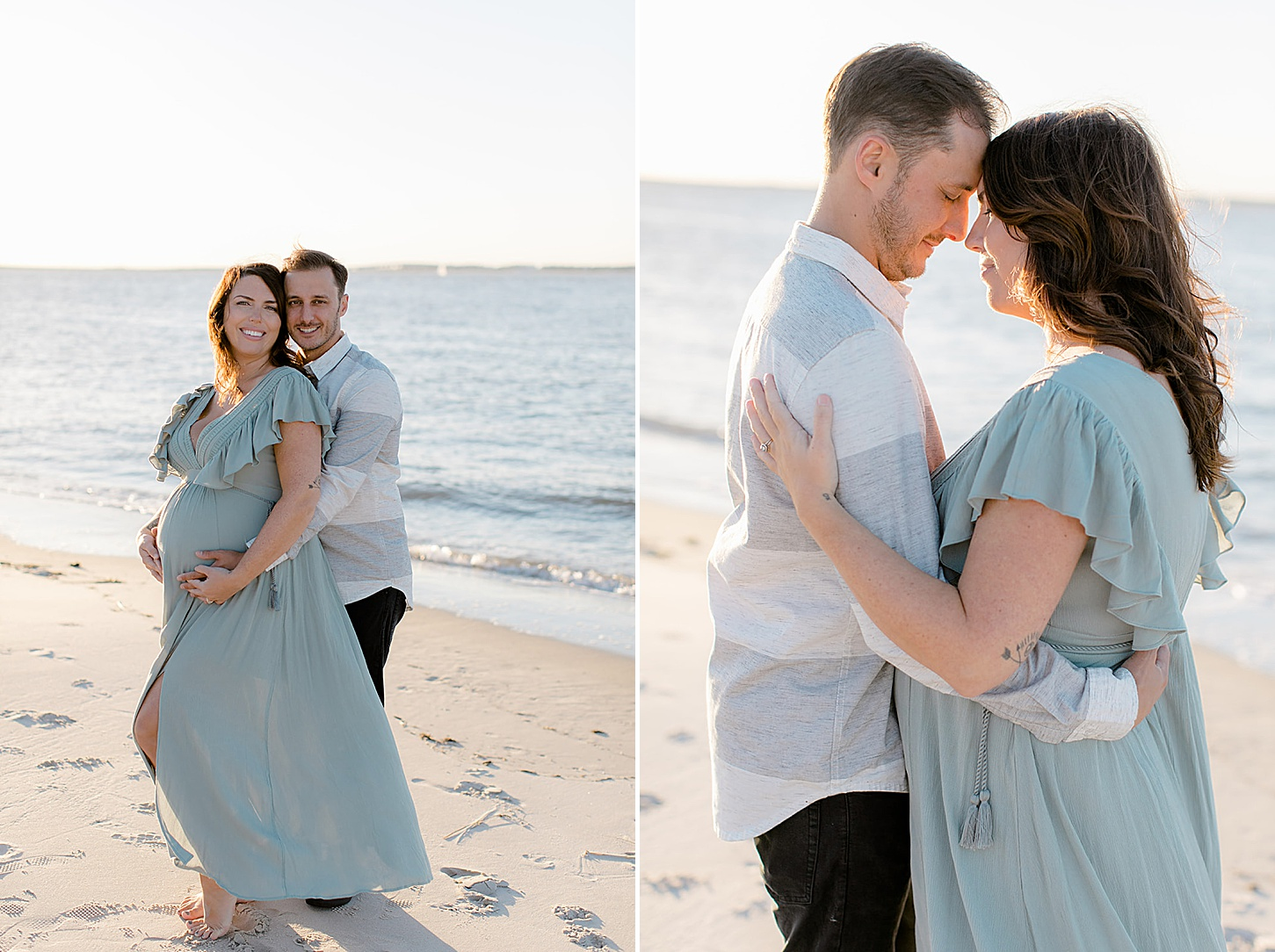 Ocean City NJ Maternity Portrait Photography by Magdalena Studios 0006