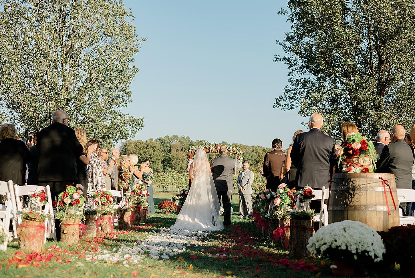 Valenzano Winery Vitners Pavillion Wedding Photography by Magdalena Studios 0021