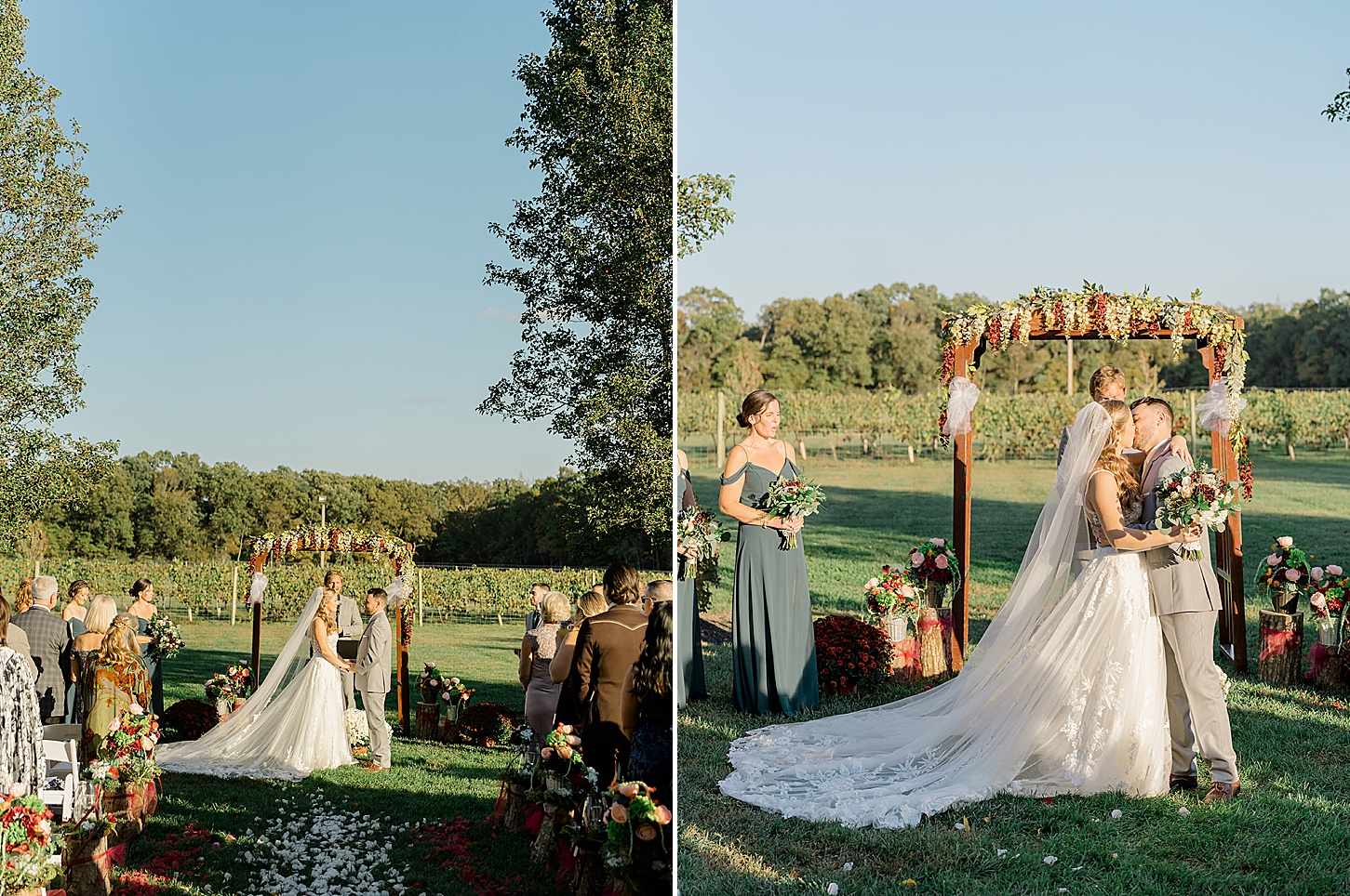 Valenzano Winery Vitners Pavillion Wedding Photography by Magdalena Studios 0023