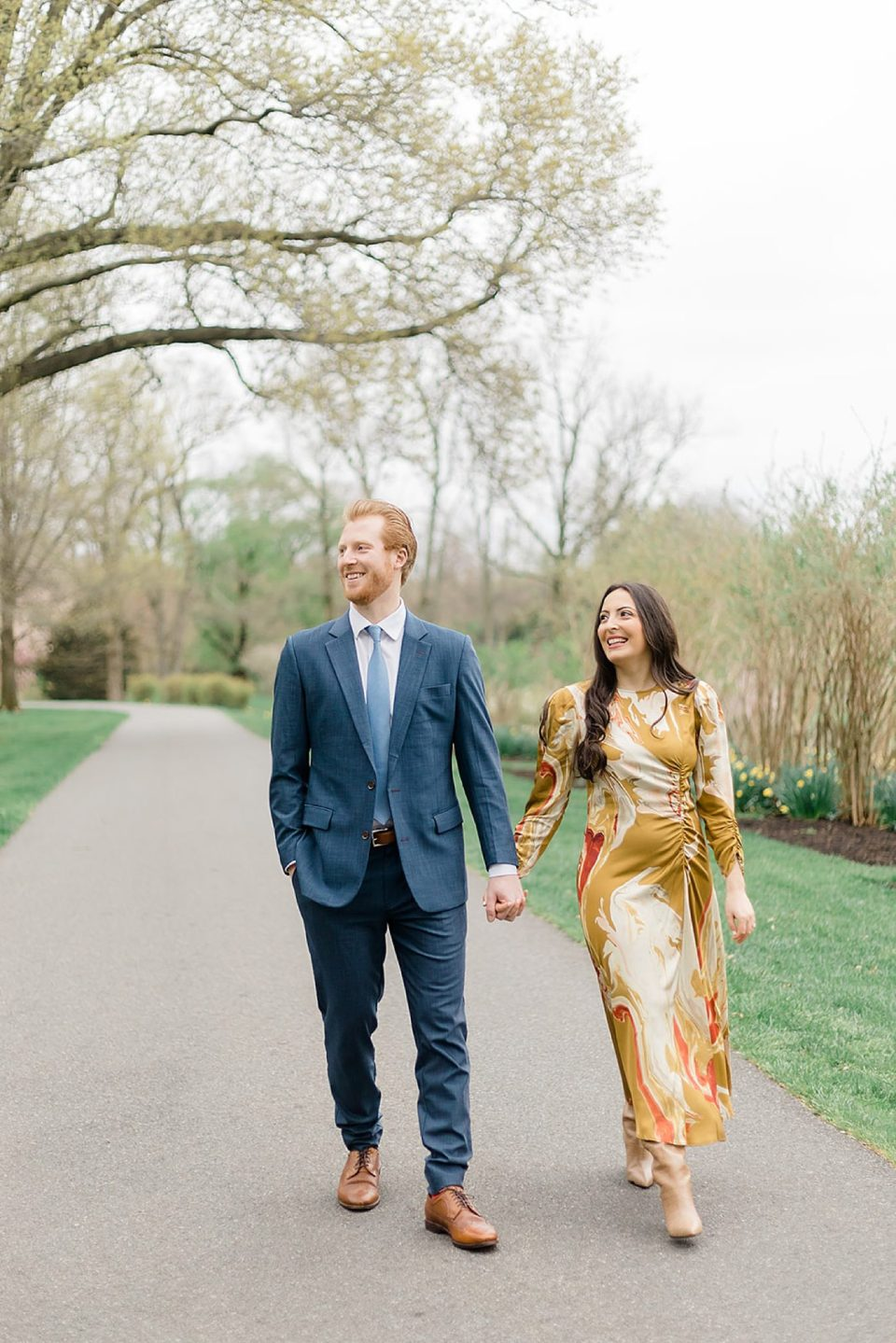Alfred I. DuPont Hospital for Children Mansion Grounds Engagement Photography by Magdalena Studios 0001 scaled