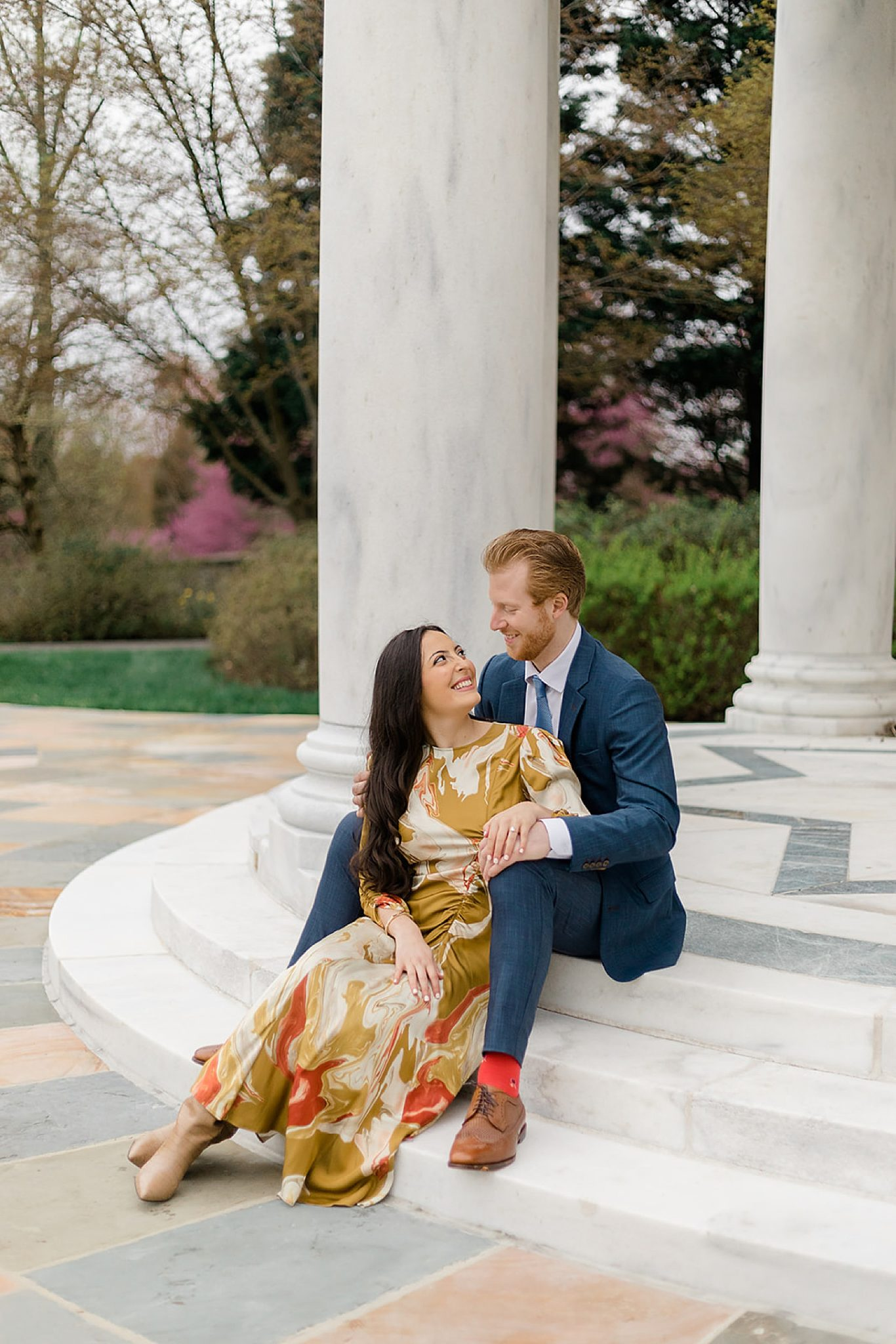 Alfred I. DuPont Hospital for Children Mansion Grounds Engagement Photography by Magdalena Studios 0002 scaled