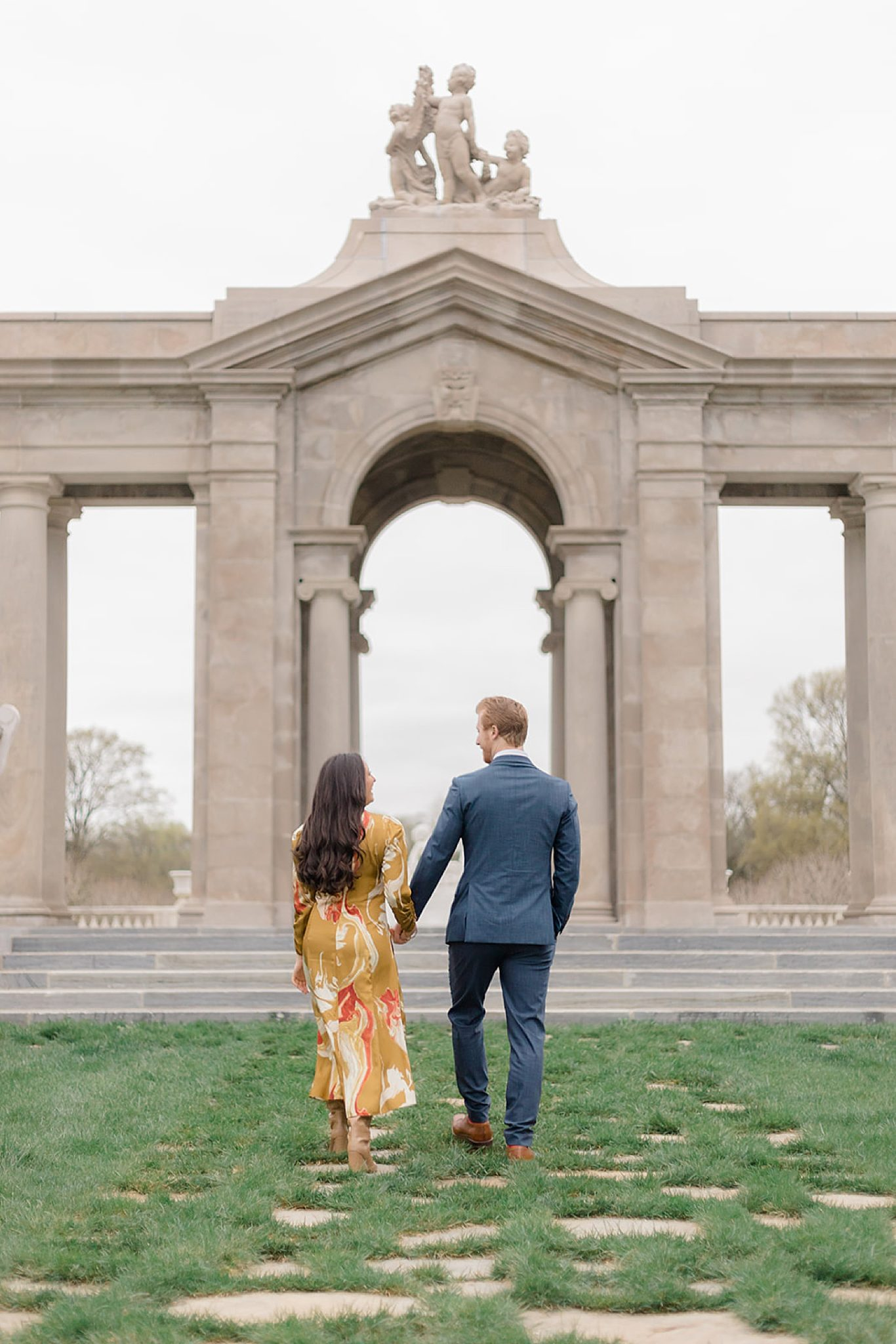 Alfred I. DuPont Hospital for Children Mansion Grounds Engagement Photography by Magdalena Studios 0015 scaled