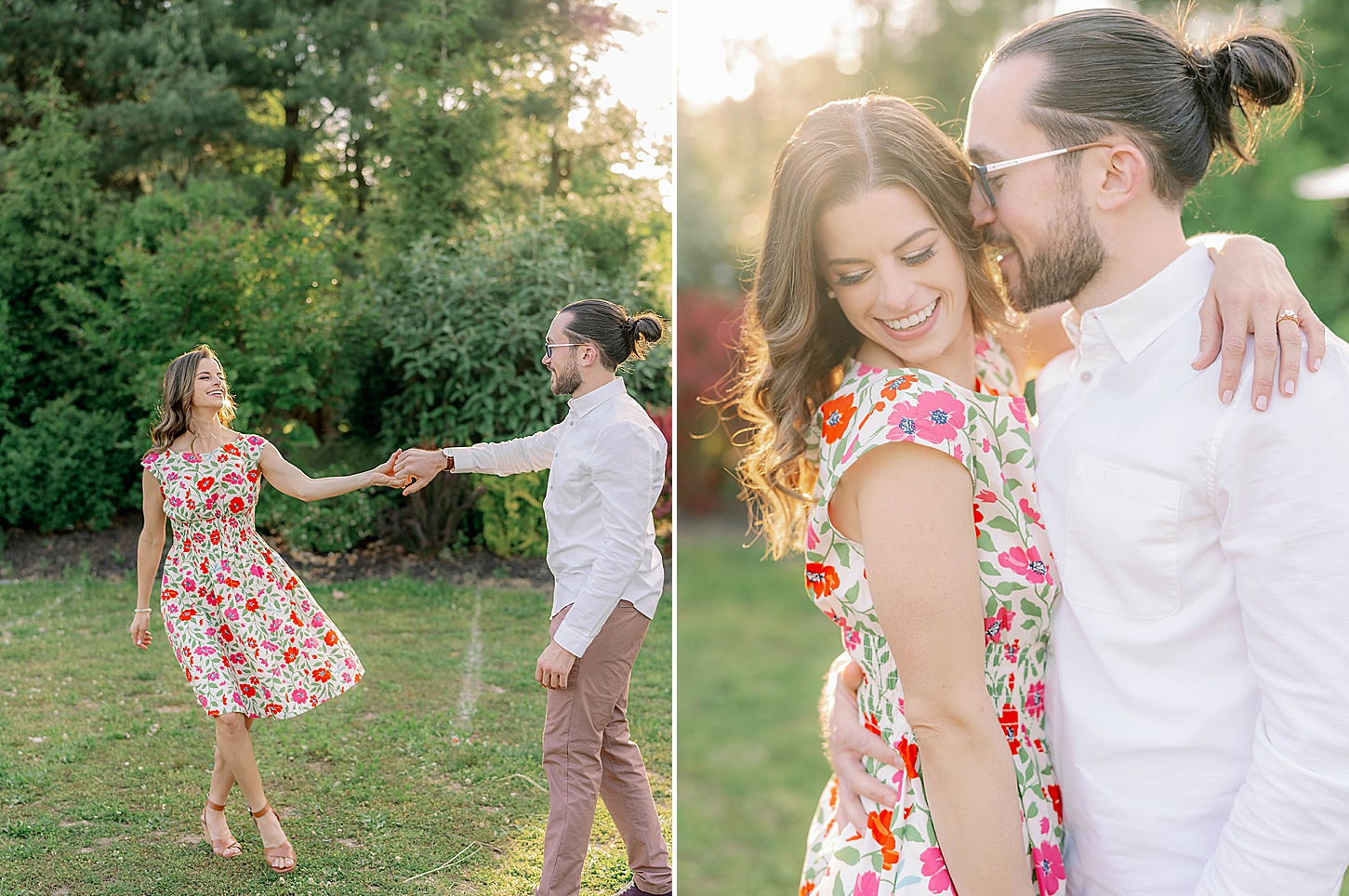 Bast Brothers Garden Center Mullica Hill NJ Engagement Photography by Magdalena Studios 0016