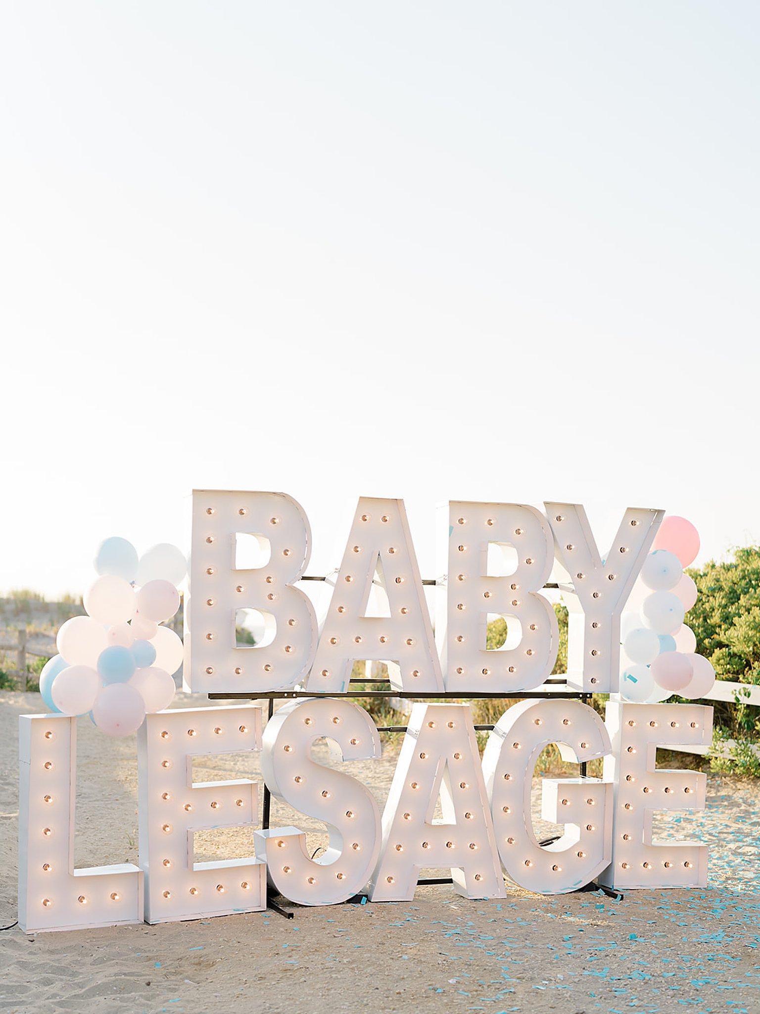 Ocean City NJ Gender Reveal Pregnancy Photography by Magdalena Studios 0000 1