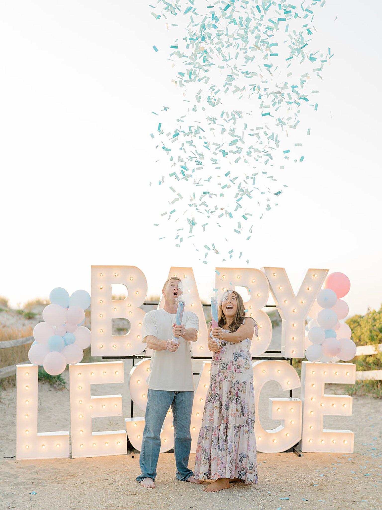 Ocean City NJ Gender Reveal Pregnancy Photography by Magdalena Studios 0005 1