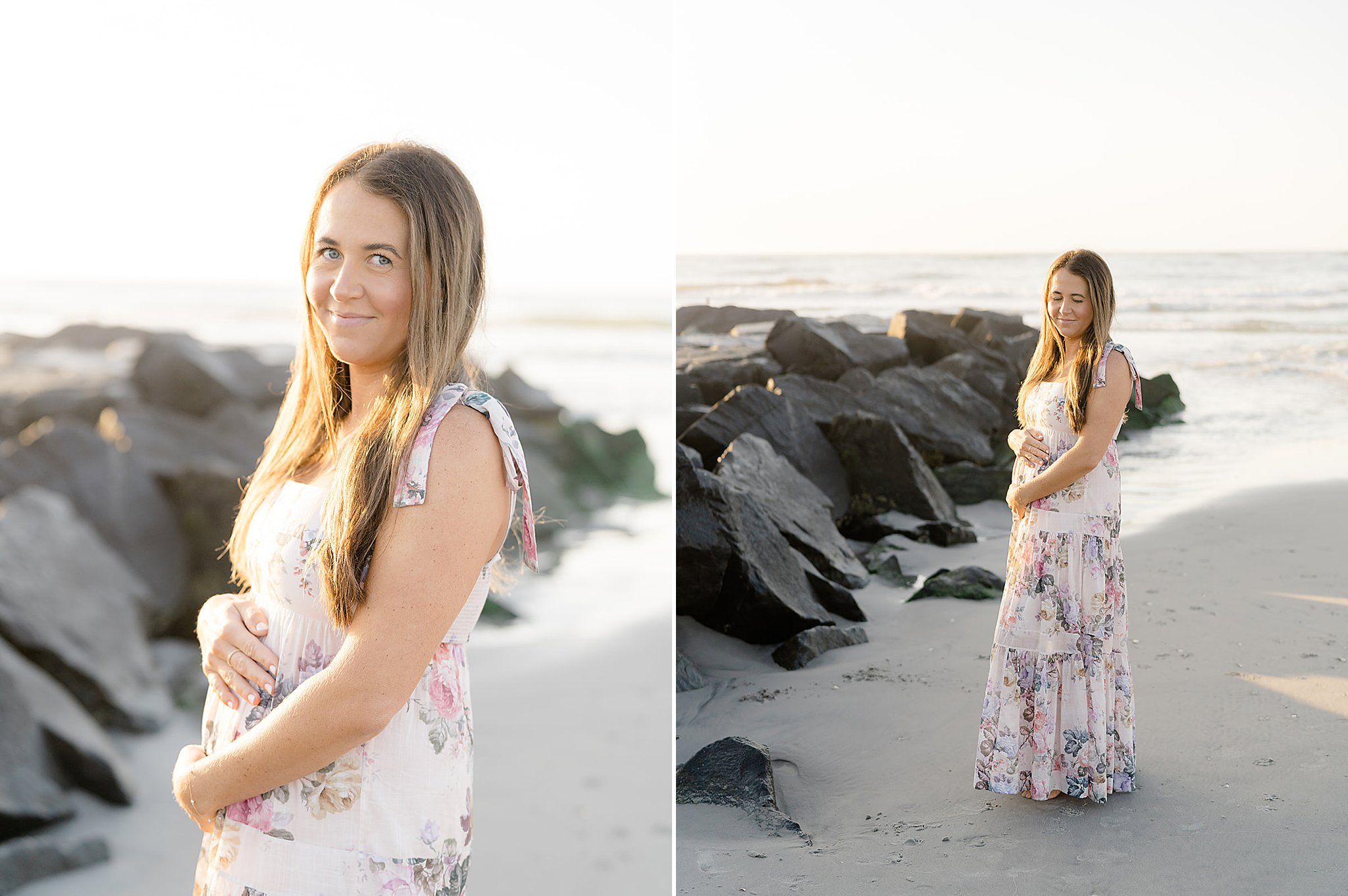 Ocean City NJ Gender Reveal Pregnancy Photography by Magdalena Studios 0031
