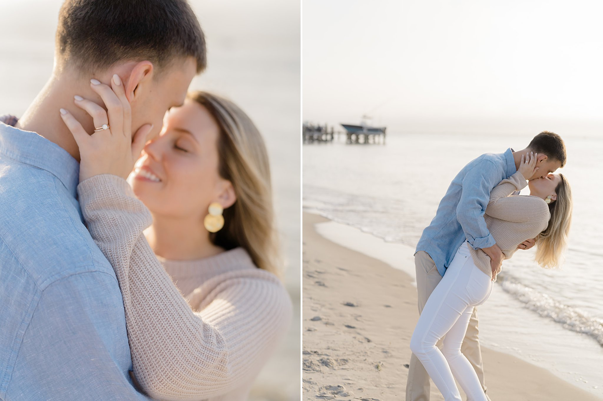 Ocean City New Jersey Engagement Session Photography by Magdalena Studios KateBrad 0044 1
