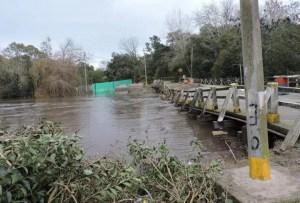 Delicada situación en la región por las intensas lluvias