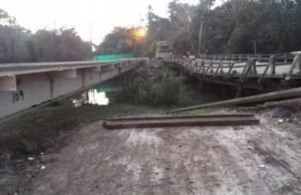 Resultado de imagen para puente sobre el arroyo buñirigo