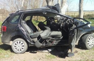 Fatal accidente en la ruta del olvido