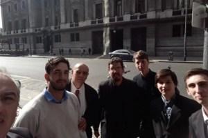 Alumnos de la Escuela Técnica participan del Congreso Aeroespacial Argentino