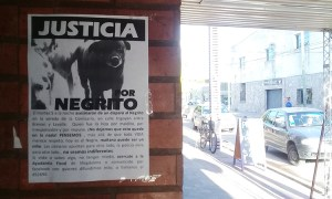 Avanza la investigación por la muerte de Negrito