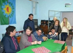 Chiche Duhalde visitó Magdalena y estuvo junto a candidatos de Consenso Federal