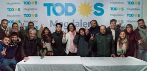 Con un documento político el Frente de Todos se presentó formalmente en Mgd
