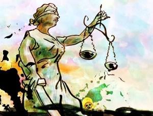 La justicia empetrolada