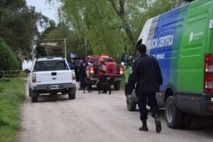 Intensa búsqueda de Abril en Punta Indio