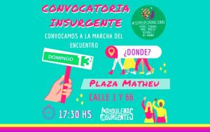Magdalenas Insurgentes en el 34º Encuentro de Mujeres en La Plata