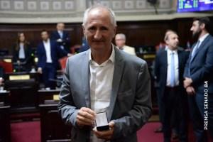 El mensaje de Carballo en su última sesión como senador provincial