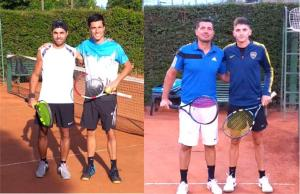 Joaquín Gortari y Diego Irazú finalistas de la «A»