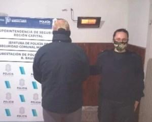 Policia de Bavio detuvo a un vecino del pueblo con cocaína