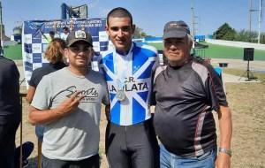 Lucio Formigo, el magdalenense subcampeón argentino en ciclismo