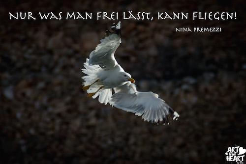 Nur was man frei lässt kann fliegen