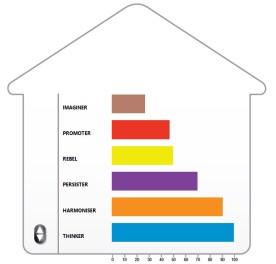 PCM; Process Communication Model; PCM condominium; PCM Personality Types; Imaginer; Promoter; Rebel; Harmonizer; Thinker; Persister; Magda Tabac Certified Process Communication Trainer; Trainer; PCM trainer in London