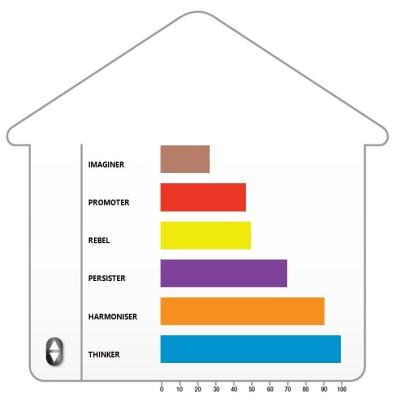 PCM; Process Communication Model; PCM condominium; PCM Personality Types; Imaginer; Promoter; Rebel; Harmonizer; Thinker; Persister