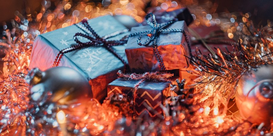 Christmas presents; Best wishes