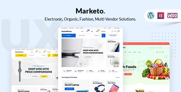 Marketo WooCommerce WordPress Theme