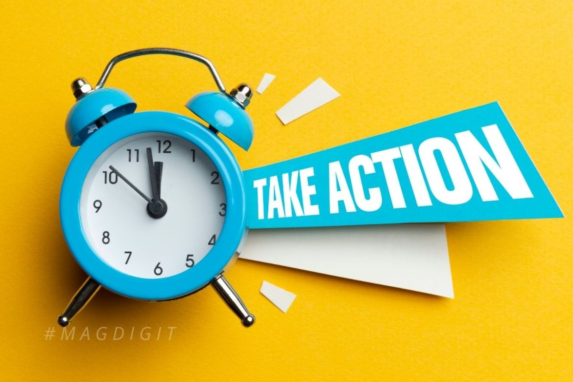 Action is the Key.