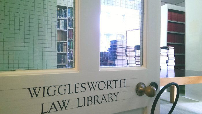 Wigglesworth through door