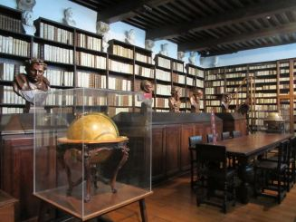 The Library at the Plantin-Moretus Museum.  Photograph by Catherine Sutherland