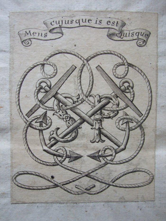 Pepys Bookplate