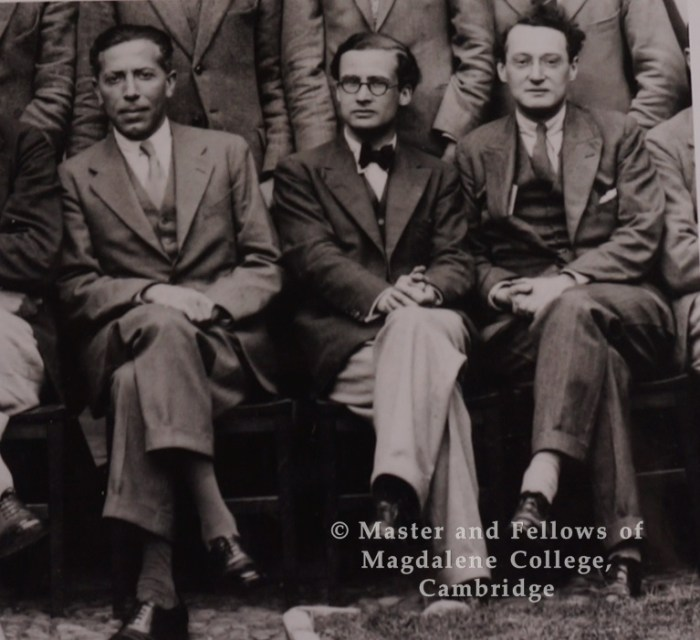 Photograph of Niccoli, Empson and Richards wm